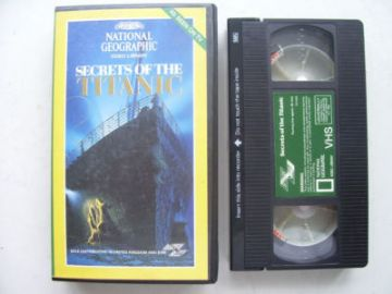 Titanic Secrets of the Titanic VHS
